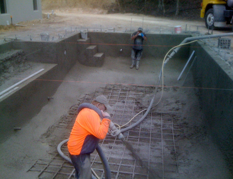Quality swimming pool construction